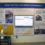 How can you live more sustainably? informational station